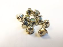 Volvo License Plate Mounting Nuts. Stainless Steel Acorn. Metric 10 Pack 968458