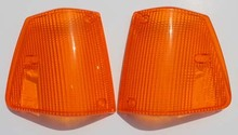 PAIR Turn Signal for Volvo 240 1986-1993 US MARKET ALL AMBER Turn signal lens lense cover   SIGN UP AND SIGN IN AND REFRESH FOR SPECIAL PRICING!